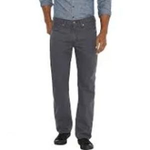 Levi's 514 Gray Slim Straight Leg Jeans
